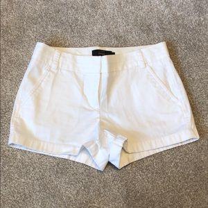 Jcrew white shorts
